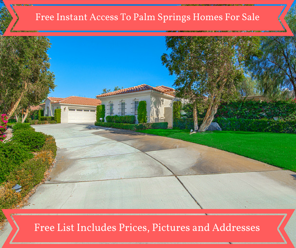 Free Palm Springs Area MLS Search