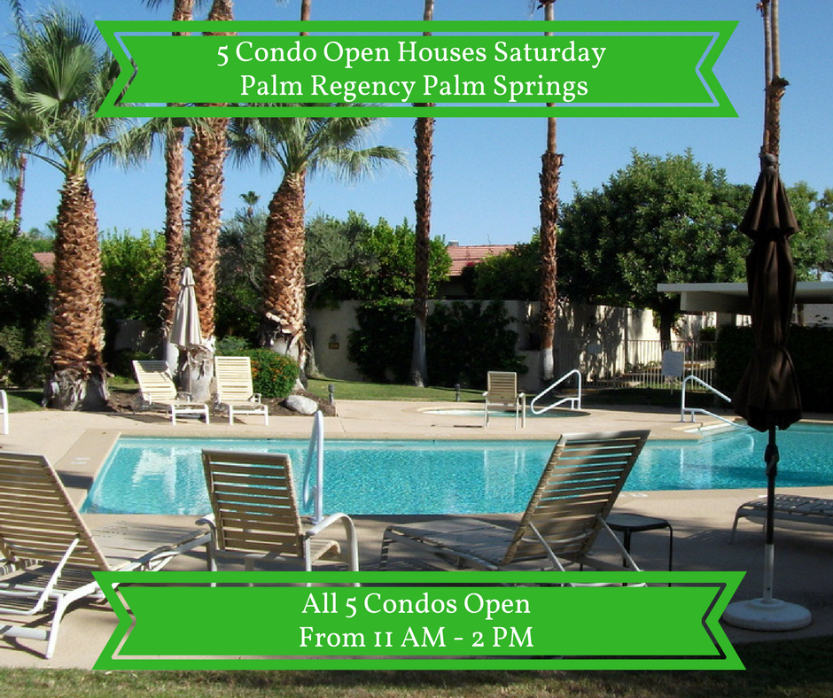 Palm Regency Condos Open House