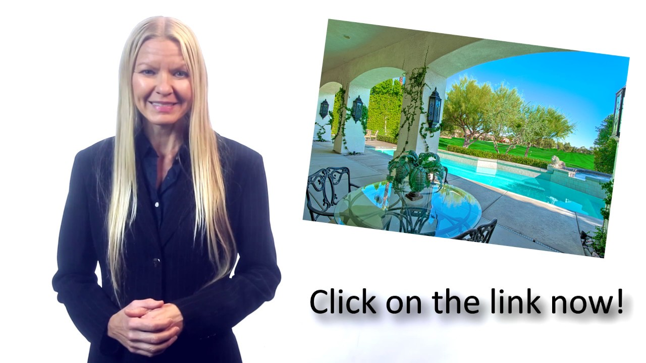 Rancho Mirage Real Estate  What is My Home Worth Video?