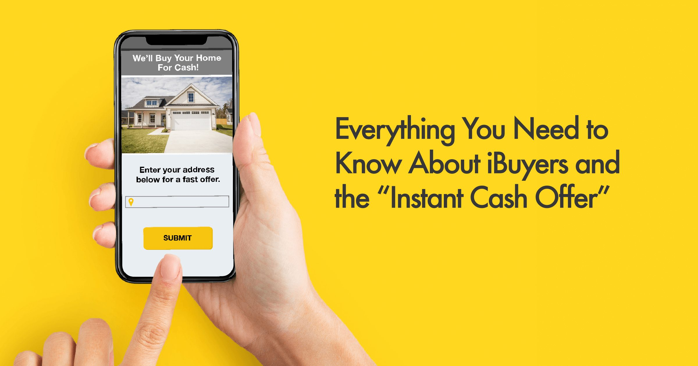 Instant Cash Offers Home Sellers Pros and Cons of IBuyers